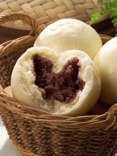 buns with red bean-1